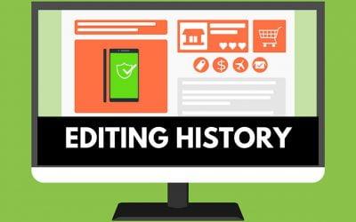 Editing History