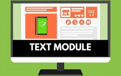 Text Module